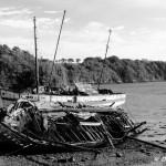 Cimetière marin, La Passagère, Saint-Malo, Noir et Blanc (6016)