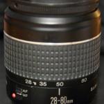 DIY-Crack objectif 28-80mm pour macro, avant