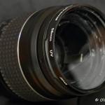 DIY-Crack objectif 28-80mm pour macro, avec un filtre UV