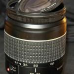 DIY-Crack objectif 28-80mm pour macro, enlever la lentille frontale