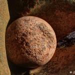 La boule dans un écrin de Granit Rose, Trégastel, HDR (5281-83)