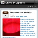 Littoral en Capitales optimisé smartphones et tablettes