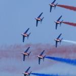 Patrouille de France, le spectacle en formation serrée (1/2), Perros-Guirec, 2011