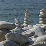 Sculptures de galets, l'Ile Grande, Côte de Granit Rose (7448)