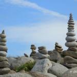 Sculptures de galets, l'Ile Grande, Côte de Granit Rose (7471)