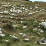 Sculptures de galets, l'Ile Grande, Côte de Granit Rose (7513)